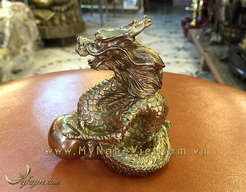 tượng 12 con giáp bằng đồng, tượng rồng đồng 1