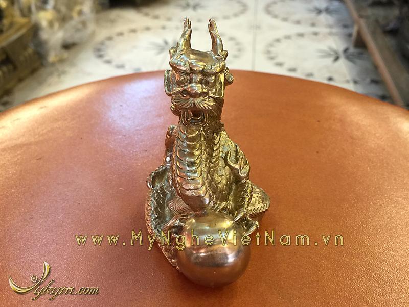 tượng 12 con giáp bằng đồng, tượng rồng đồng
