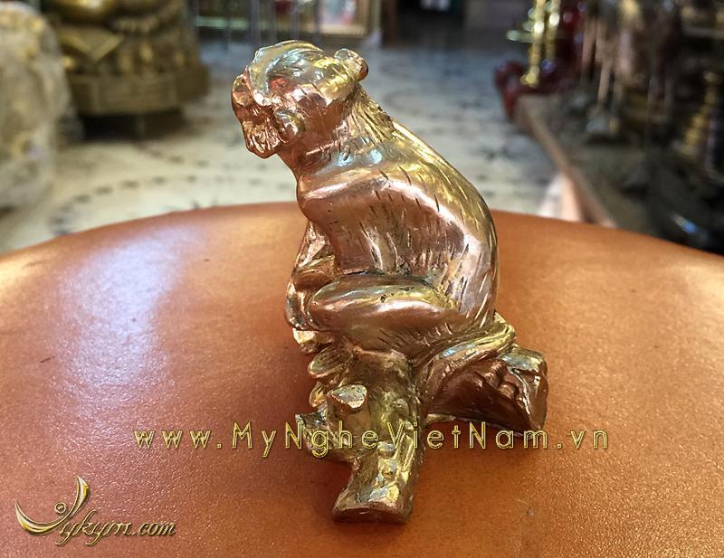 tượng 12 con giáp bằng đồng, tượng khỉ đồng