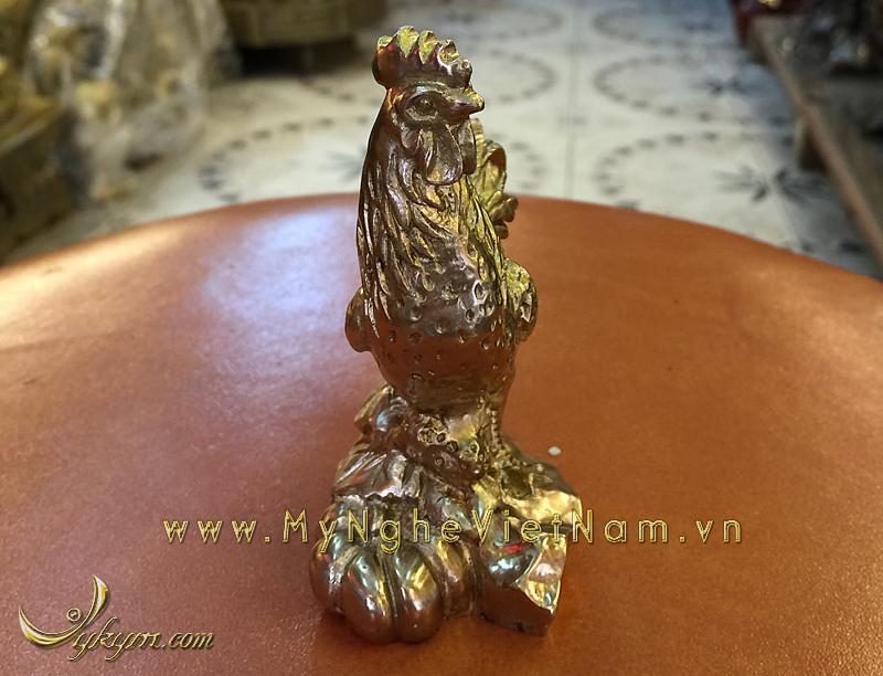 tượng 12 con giáp bằng đồng, tượng gà đồng