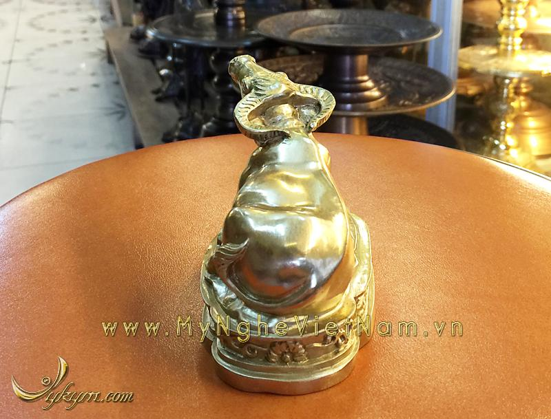 tượng 12 con giáp bằng đồng, tượng trâu đồng 2