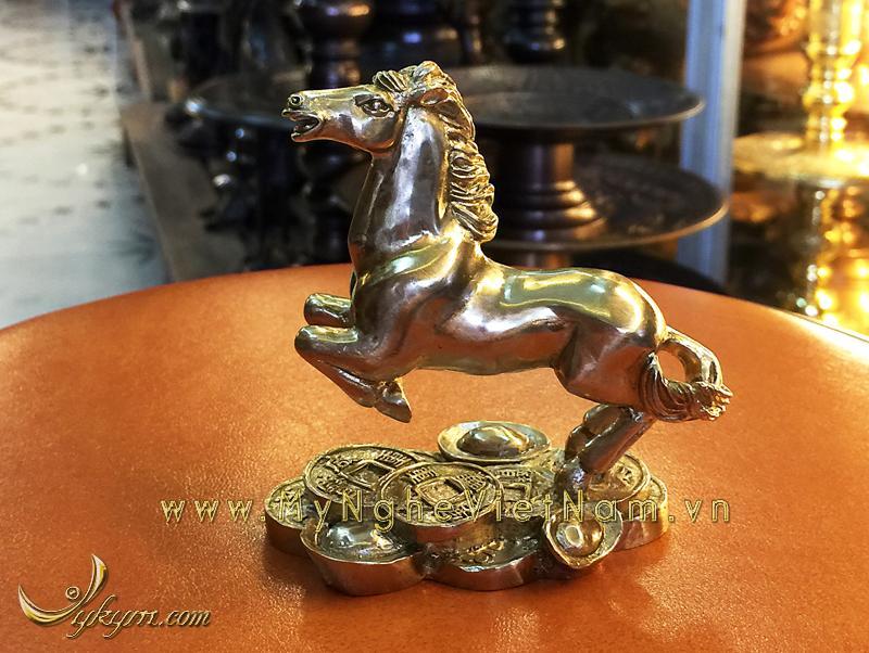 tượng 12 con giáp bằng đồng, tượng ngựa đồng 3