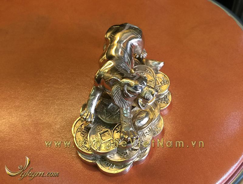 tượng 12 con giáp bằng đồng, tượng hổ đồng 1