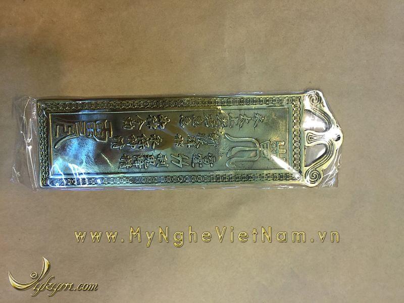 kim bài thiên quan tứ phước bằng đồng