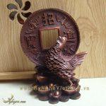 tượng gà chiêu tài lộc phúc phong thủy cao cấp