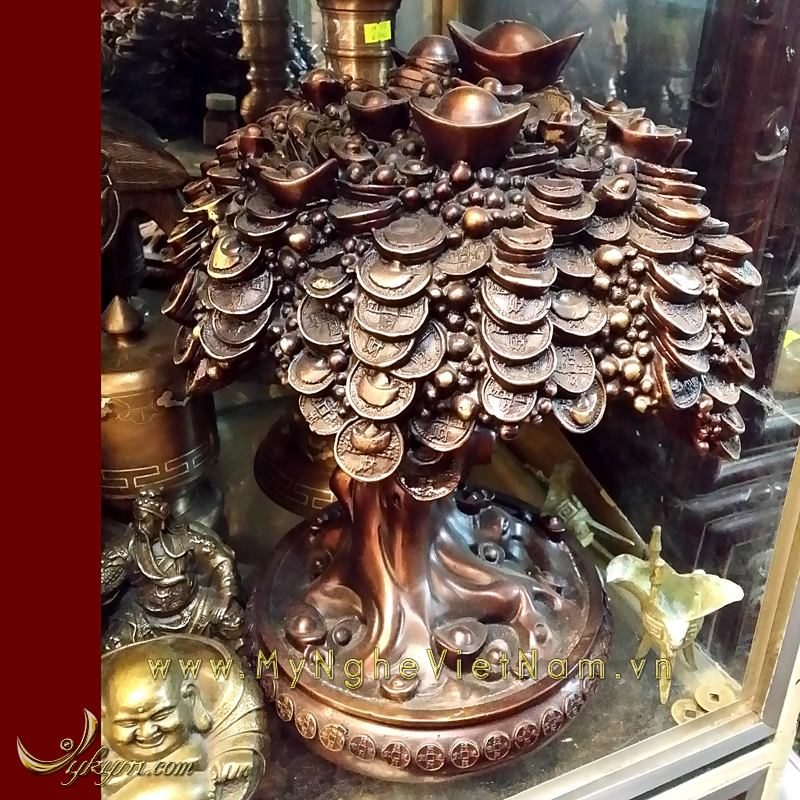 cây tiền đồng, vật phẩm phong thủy chiêu tài