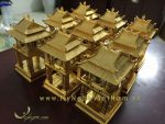 tượng khuê văn các hà nội bằng đồng mạ vàng