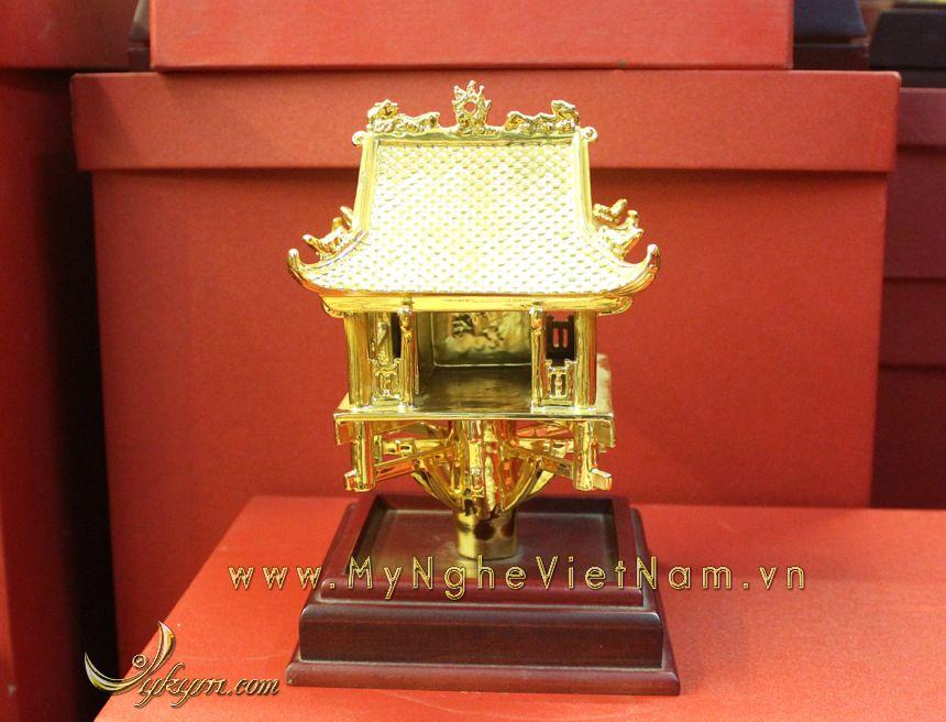 tượng chùa 1 cột mạ vàng làm quà tặng cao cấp 1