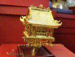 tượng chùa 1 cột mạ vàng làm quà tặng cao cấp 4