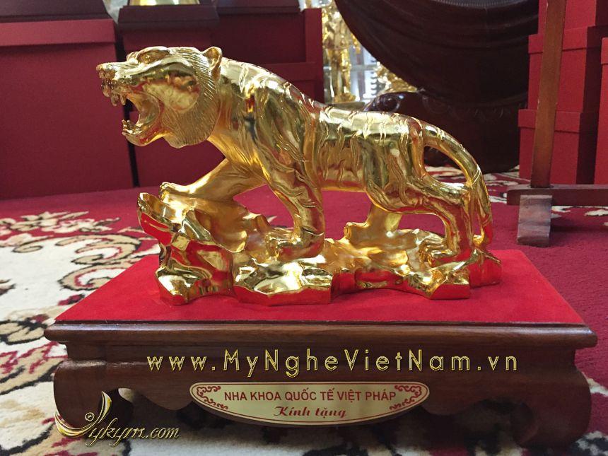quà tặng tượng hổ đồng 12 con giáp