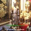 tượng khổng mình khảm bạc cao cấp 70cm