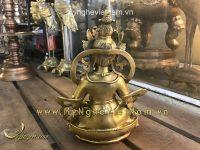 tượng hoàng thần tài mật tông cao 22cm