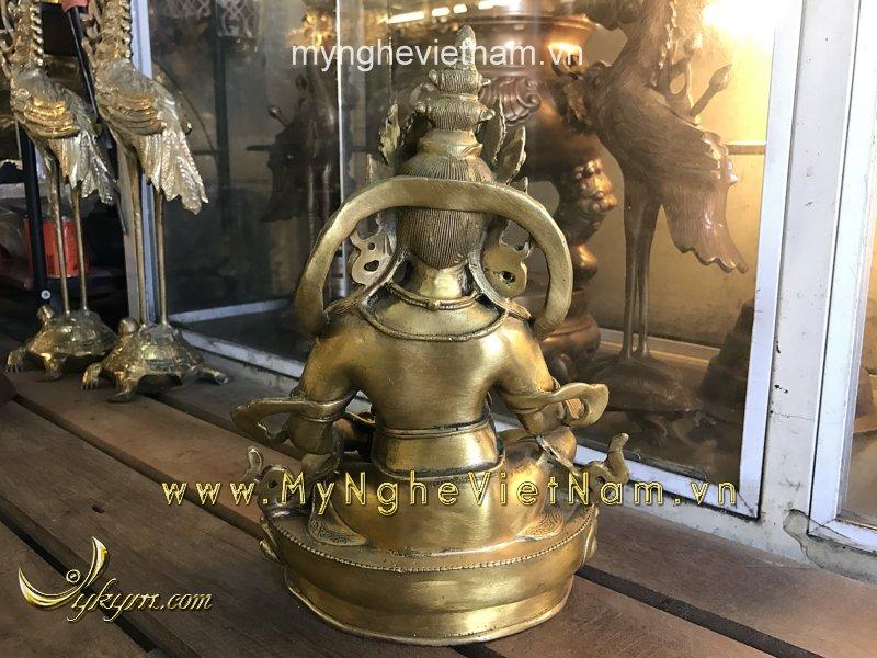 tượng hoàng thần tài mật tông cao 28cm