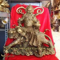 tượng triệu công minh tượng thần tài bằng đồng 40cm