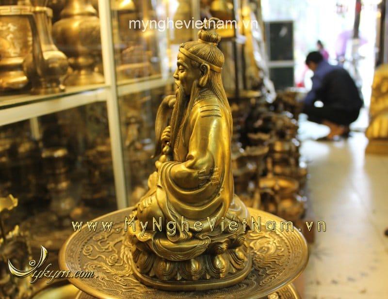 tượng thái thượng lão quân ngồi cao 25cm