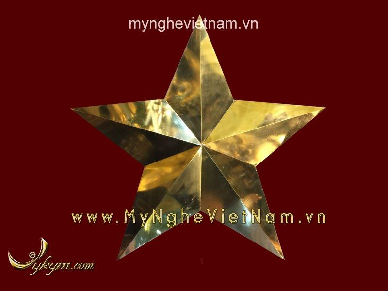 ngôi sao búa liềm bằng đồng