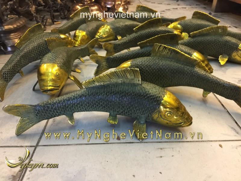 Cá chép đồng giả cổ dài 25cm0