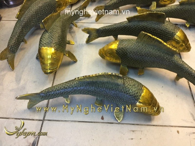 cá chép đồng giả cổ, cá chép đúc như thật
