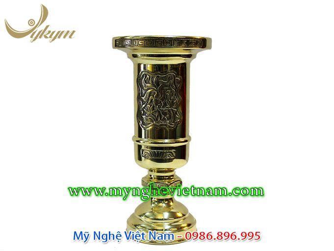 ống cắm hương ống nhang bằng đồng cao 30cm