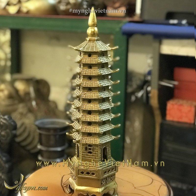 tháp văn xương 9 tầng cao 30cm