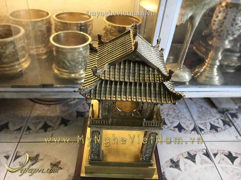 Tượng khuê văn các 40cm bằng đồng