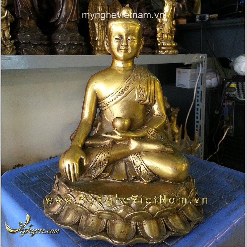 Tượng Phật Thích Ca Mâu ni cao 20cm0