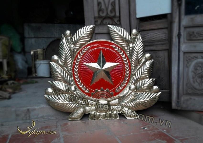 Huy hiệu quân đội nhân dân việt nam bằng đồng0