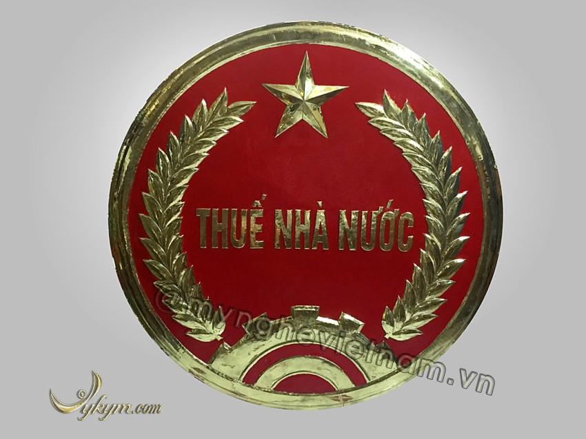 Logo thuế nhà nước bằng đồng0